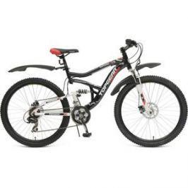 Велосипед TOPGEAR Explorer колёса 26 черный/красный ВН26394