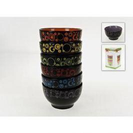 Набор салатников 6 штук ENS Group Цветочный калейдоскоп (540083)