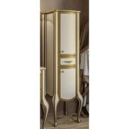 Пенал Timo Еллен плюс 2 дверцы, 1 ящик, бежевый с золотом (Elp.p M-VR (9001-G)-R)