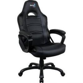 Кресло для геймера Aerocool AC80C AIR-B черное с перфорацией
