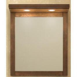Зеркало в деревянной раме Opadiris Мираж 65 светлый орех, для установки с козырьком Z0000004869 (Z0000004695)
