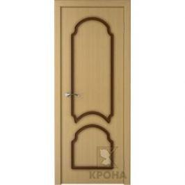 Дверь VERDA Соната глухая фрезерованная 2000х800 шпон Дуб