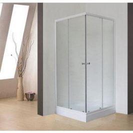 Душевой уголок Royal Bath 80*80*198 стекло шиншилла (RB80HP-C)