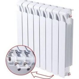 Радиатор отопления RIFAR MONOLIT VENTIL 500 MVR 14 секций биметаллический нижнее правое подключение