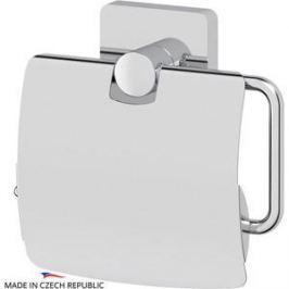 Держатель туалетной бумаги с крышкой Ellux Avantgarde хром (AVA 066)