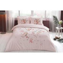 Комплект постельного белья TAC 2-х сп, сатин, Martha V01-pembe, розовый (4044-67720)