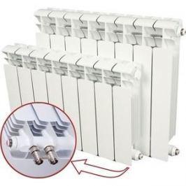 Радиатор отопления RIFAR BASE VENTIL 500 BVR 8 секций биметаллический нижнее правое подключение