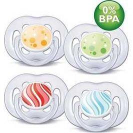 Набор пустышек Philips Avent силикон Freelow Дизайн 6-18мес BPA-Free SCF180/24 86400