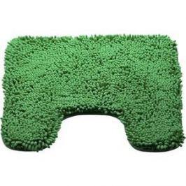 Коврик для туалета Brissen 50х50 см Chenille зеленый, полиэстер (BSMT-8000-Green)