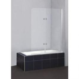 Душевая шторка на ванну BelBagno SELA-V-21-120/140-Ch-Cr-R стекло Chinchilla