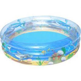 Надувной бассейн Bestway круглый Морская жизнь (51046) 201х53 см