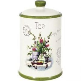 Банка для сыпучих продуктов (чай) Anna Lafarg LF Ceramics Букет (AL-175F6294-B-LF)