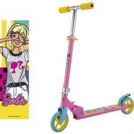 Самокат 2-х колесный 1Toy Barbie, колёса 145мм Т59578