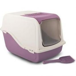 Туалет MP-Bergamo Ariel Top Free закрытый с угольным фильтром и совком для кошек 57*39*38см цвета в ассортименте (87498)