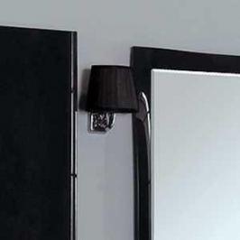 Светильник Акватон 3012/m/cr хром плафон черный (FU0003961)