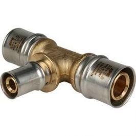 Тройник STOUT переходной 26х16х26 для металлопластиковых труб прессовой (SFP-0005-261626)