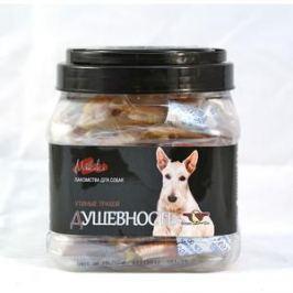 Лакомство GreenQZin Miniki Душевность утиные трахеи для собак мелких пород 200г (DkTh200Pc)