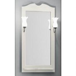 Зеркало в деревянной раме Opadiris Тибет 50 слоновая кость, для светильников 00000001041 (Z0000007087)