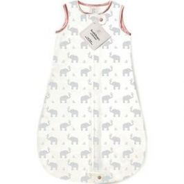 Спальный мешок SwaddleDesigns для новорожденного zzZipMe Sack 3-6M Flannel PP Elephant and Chickies (SD-462PP-3M)