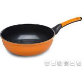 Сковорода-вок d 28 см Oursson Pallete Anionic Ceramic (PW2802C/OR)