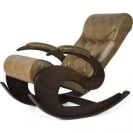 Кресло-качалка Мебелик Тенария 6 кофе с молоком