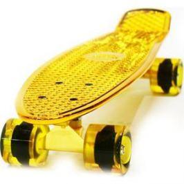 Скейтборд Hubster Cruiser 22 Metallic gold 9273П
