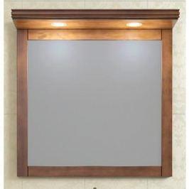 Зеркало в деревянной раме Opadiris Мираж 80 светлый орех, для установки с козырьком Z0000007082 (Z0000006875)