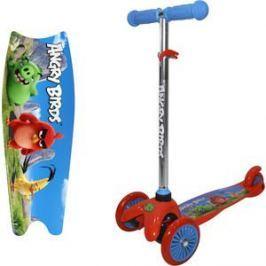 Самокат 3-х колесный 1Toy Angry Birds Т11697