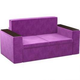 Детский диван АртМебель Арси микровельвет фиолетовый