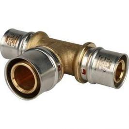 Тройник STOUT переходной 26х32х26 для металлопластиковых труб прессовой (SFP-0005-263226)