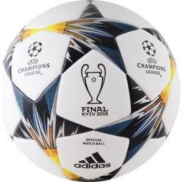 Мяч футбольный Adidas Finale18 Kiev OMB CF1203 р.5 официальный мяч финала ЛЧ 18