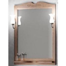 Зеркало в деревянной раме Opadiris Тибет 70 антикварный орех, для светильников 00000001041 (Z0000004706)