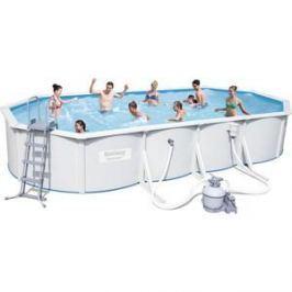 Стальной бассейн Bestway овальный Hydrium Oval Pool Set 740x360x120 см (56604)