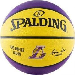 Мяч баскетбольный Spalding NBA Team Los Angeles Lakers р.7 (83-510z)