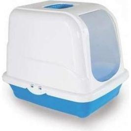 Туалет MP-Bergamo Oliver закрытый с угольным фильтром для кошек 46*35*40см цвета в ассортименте (87496)