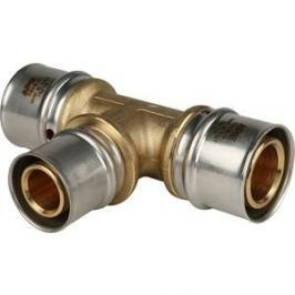 Тройник STOUT переходной 32х26х32 для металлопластиковых труб прессовой (SFP-0005-322632)