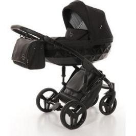Детская коляска 2 в 1 Junama DIAMOND JD-05 (черный/черный короб)