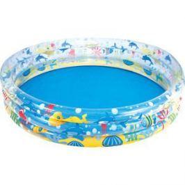 Надувной бассейн Bestway круглый Подводный мир (51005) 183х33 см