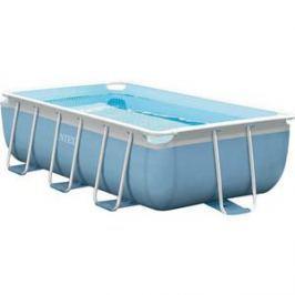 Каркасный бассейн Intex Prism Frame 300x175x80 см (Сборный каркасный бассейн серии Intex Prism Frame прямоугольной формы с фильтр-насосом и лестн) 3539л