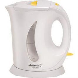 Чайник электрический Atlanta ATH-735 желтый