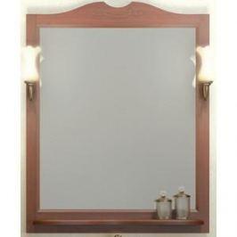 Зеркало в деревянной раме Opadiris Клио 80 антикварный орех, для светильников 00000001041, Z0000001408 (0000001009)