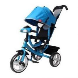 Велосипед 3-х колесный Moby Kids Comfort 12x10 EVA Car синий 641082