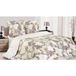 Комплект постельного белья Ecotex 1,5 сп, поплин, Пэйсли (КП1Пэйсли)