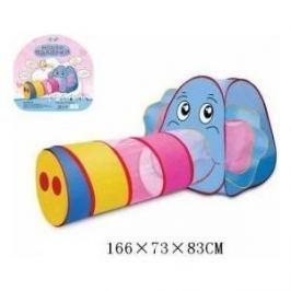 Палатка игровая Наша Игрушка с туннелем Слоненок, сумка