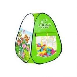 Палатка игровая Наша Игрушка Волшебный сад, сумка на молнии