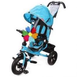 Велосипед 3-х колесный Moby Kids Comfort 12x10 AIR бирюзовый 641056