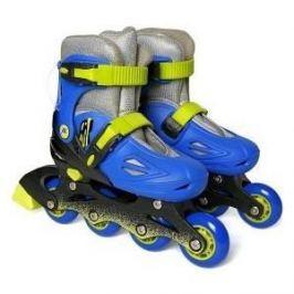 Роликовые коньки Moby Kids р 34-37 сине-зеленый 641021