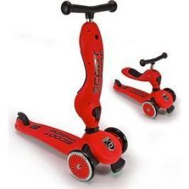 Самокат 3-х колесный Scoot and Ride с сиденьем HighwayKick (2 в 1) Red (1186507/цв 1186512)