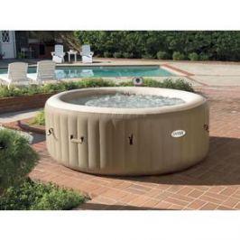 СПА-бассейн Intex 28408 Bubble Massage 165х216х71см (с круговым пузырьковым массажем)