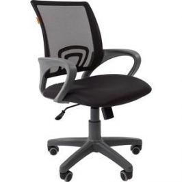 Офисноекресло Chairman 696 серый пластик TW-12/TW-01 черный